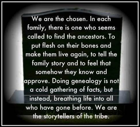 Genealogy poem